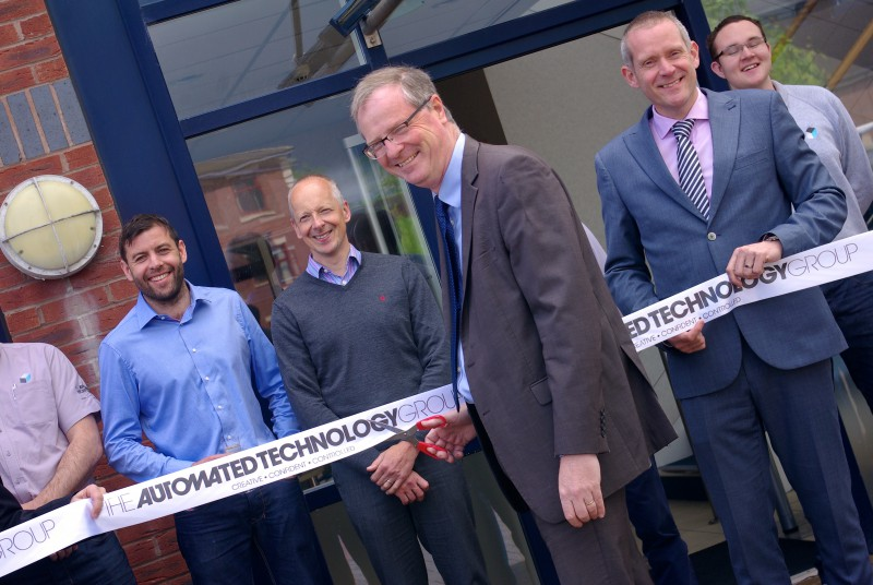 ATG Stafford service centre launch