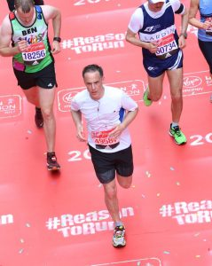 Andy in the London Marathon