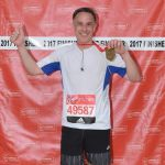 Andy with his London Marathon medal