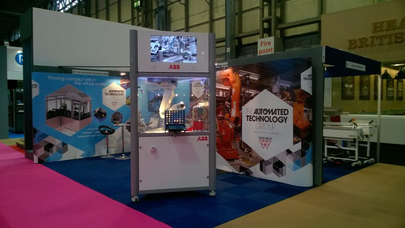 ATG's stand at the PPMA Show